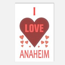 I Love Anaheim Postcards (Package of 8)