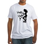 Happy Hooker Fitted T-Shirt