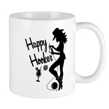 Happy Hooker Small Mug