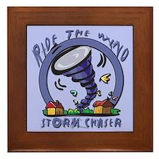 Ride the wind Framed Tile