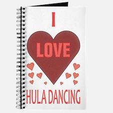 I Love Hula Dancing Journal