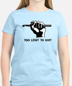 Too Legit to Knit T-Shirt