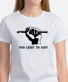 Too Legit to Knit Tee