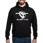 Too Legit to Knit Hoodie (dark)