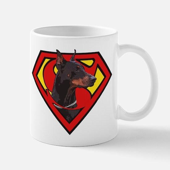 Super DoberMan Mug