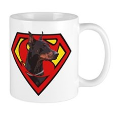 Super DoberMan Coffee Mug
