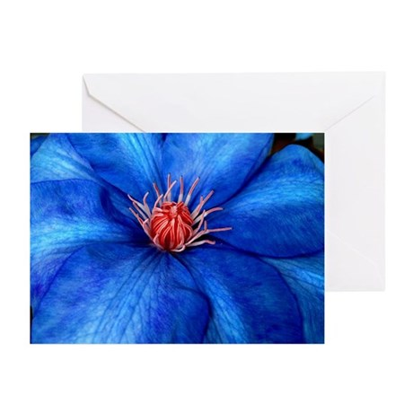 Bloomin' Big Blue Greeting Cards (Pk of 10)