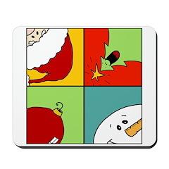 christmas fun Mousepad