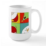 christmas fun Large Mug