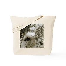 Snow Mermaid Tote Bag