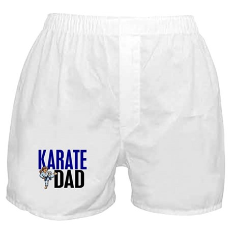 Karate Dad (OF GIRL) 3 Boxer Shorts