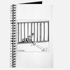 Toilet Paper Rolling Away in Prison Journal