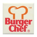 Burger Chef Tile Coaster