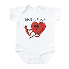 Love Is Blind Infant Bodysuit