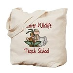 Humorous Teacher Tote Bag