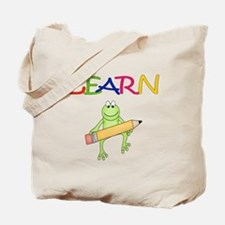 Teacher's Frog Tote Bag