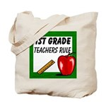 1st Grade Teachers Rule Tote Bag