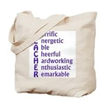 Teacher Acronymn Tote Bag