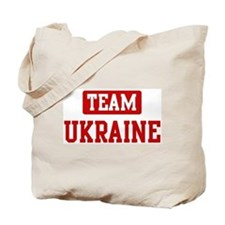 Team Ukraine Tote Bag