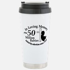 Pro Life - In Loving Memory Stainless Steel Travel