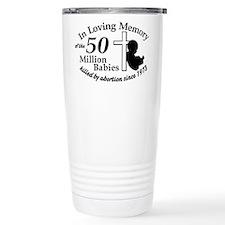 Pro Life - In Loving Memory Thermos Mug
