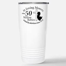 Pro Life - In Loving Memory Travel Mug