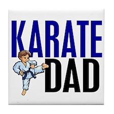 Karate Dad (OF BOY) 3 Tile Coaster