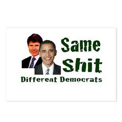 Same Shit Different Democrats Postcards (Package o