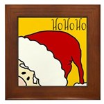 xmas hoho Framed Tile