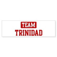 Team Trinidad Bumper Bumper Sticker