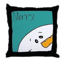 xmas merry Throw Pillow