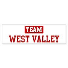 Team West Valley Bumper Bumper Sticker
