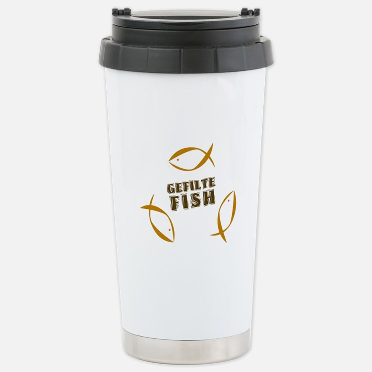 Gefilte Fish Stainless Steel Travel Mug