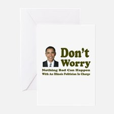 Don't Worry, Nothing Bad Can Greeting Cards (Pk of