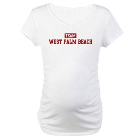 Team West Palm Beach Maternity T-Shirt