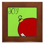 Xmas JOY Framed Tile