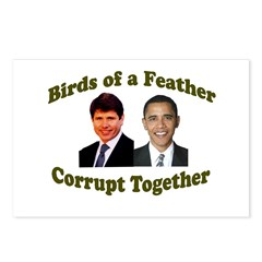 Birds of a Feather Corrupt To Postcards (Package o