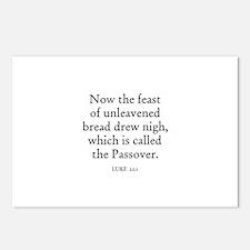 LUKE  22:1 Postcards (Package of 8)