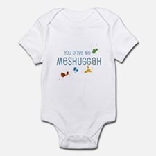 Meshuggah Infant Bodysuit