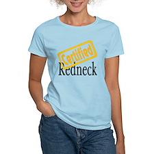 Certified RedNeck Women's Pink T-Shirt