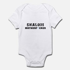 Shalom Motherf**cker Infant Bodysuit