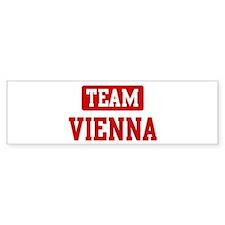 Team Vienna Bumper Bumper Sticker