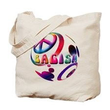 Abstrract Bagism Peace Coexis Tote Bag
