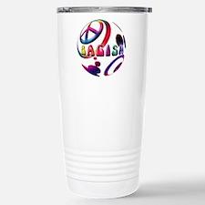 Abstrract Bagism Peace Coexis Travel Mug