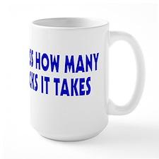 Guess How Many Licks Mug