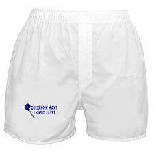 Guess How Many Licks Boxer Shorts