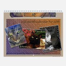Cats n Zen Wall Calendar