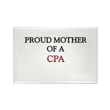 Proud Mother Of A CPA Rectangle Magnet