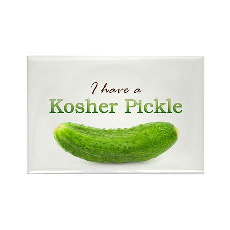 I have a Kosher Pickle Rectangle Magnet (10 pack)