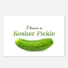 I have a Kosher Pickle Postcards (Package of 8)